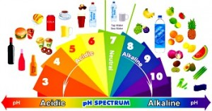 alkaline -acid spectrum